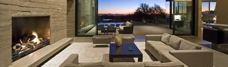chemin e moderne design chemin e contemporaine habillage. Black Bedroom Furniture Sets. Home Design Ideas